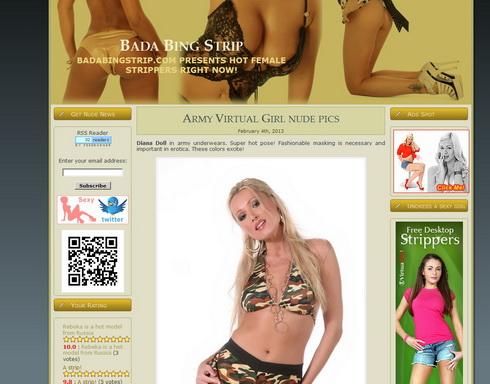 Friendly sexy blog
