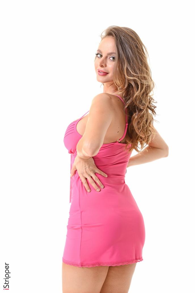 Stripperin In Pink